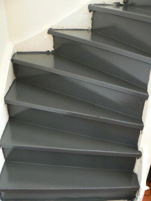 De schoonzoon referenties trap schilderen voor verkoop - Hoe om te schilderen een trap ...